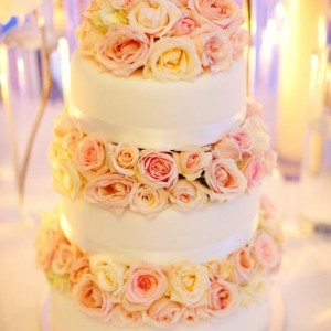 The Most Beautiful Wedding Cake by Rochelle Adonis
