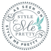 As seen in Style Me Pretty